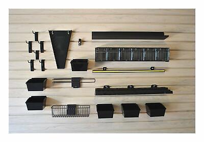 Work Center Kit For Garage Slatwall Panel Tool Organization