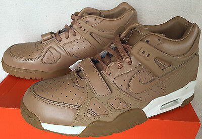 1c4d6d71b00b0c Nike Air Trainer III 3 PRM Premium QS 709989-200 Subdued Gum Shoes Men s  8.5 new