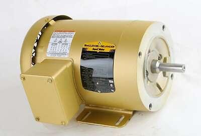 New Cem3546 Baldor Reliance Super-e Electric Motor Spec 35a012m492g1