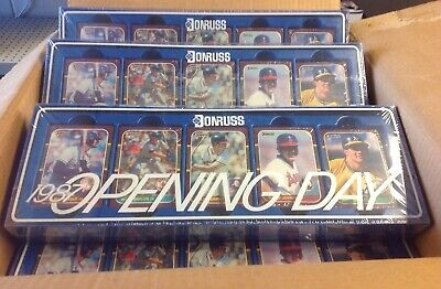 1987 Donruss Opening Day NEW Factory Sealed Set w/ Barry Bonds From A Case!!!