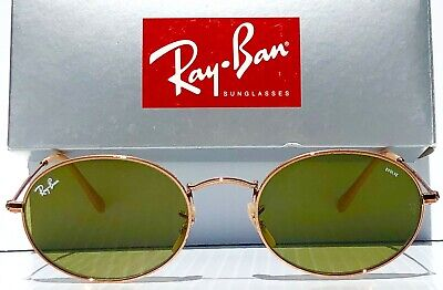 NEW* Ray Ban LENNON Evolve RB3547 54mm Oval Gold wire w Bronze Lens (Ray Ban Sunglass Sunglasses)