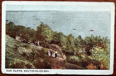 Our Cliffs, Southend-On-Sea, Essex Postcard