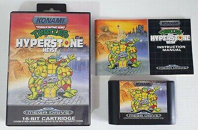 Turtles Teenage Mutant Hero the Hyperstone Heist Sega Mega Drive Pal