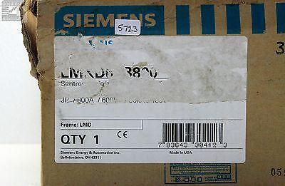 Siemens Lmxd63b800 Sentron Circuit Breaker 800 Amps (nib)