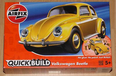 Airfix J6023 QuickBuild Volkswagen Käfer Steckbausatz, gelb