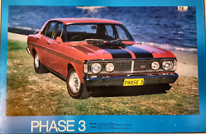XY GT FALCON BLOCKMOUNTED POSTER Kingsley Joondalup Area Preview