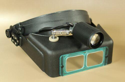 Light-Tech 490 magnifying head light