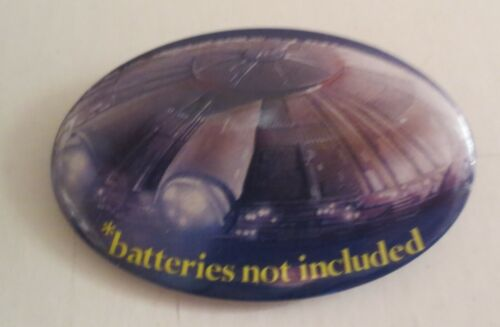 Batteries Not Included Movie Promo Pin Pinback Button