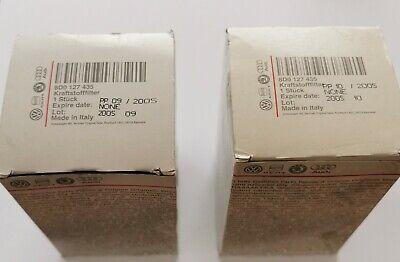 2 X AUDI, VW Genuine Fuel Filters  8D0 127 435. 8D0127435