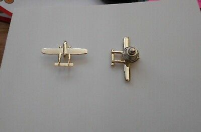 Vintage Fairchild Aviation C-119 Flying Boxcar Military Aircraft Lapel Pin