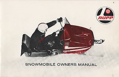 $_1 manuals rupp snowmobile trainers4me 1974 Rupp Snowmobile at bayanpartner.co