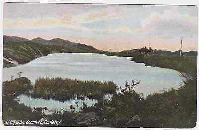 Old postcard of Long Lake, Kenmore, Co. Kerry