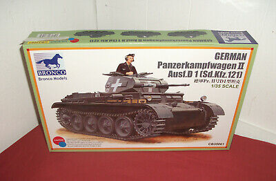 BRONCO Panzerkampfwagen II Bausatz 1:35. GERMAN Panzer Ausf.D. 1 ( Sd.Kfz.121 ).
