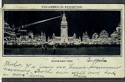 Pan-American Exposition Postcard Panoramic View
