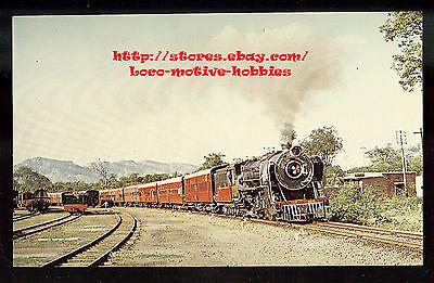 Lmh Postcard India  Indian Railway Western Div 4 6 2  2328 Narrow Gauge Railroad