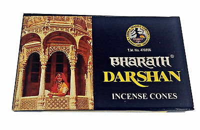 Bharath Darshan Incense Cones Finest Indian Dhoop Buy 2 get 1 Free (ADD 3)