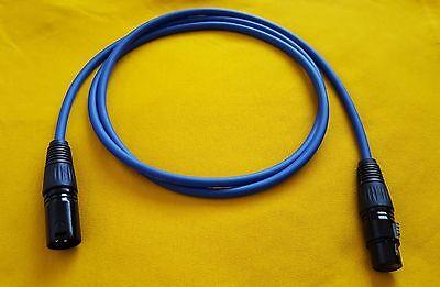 1/' Mogami 2893 Patch CableNeutrik Connectors TT to XLR M1 Feet1 Ft