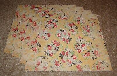 Daisy D's 12x12 Single Sided Scrapbook Paper(4) ~ Bouquet - Daisy Ds 12x12 Paper