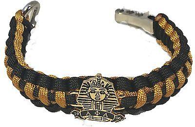 Alpha Phi Alpha Fraternity Survival Paracord Bracelet With Symbol New