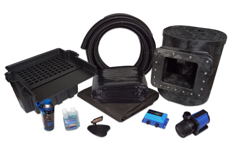 Simply Ponds 3000 Water Garden and Pond Kit with 15