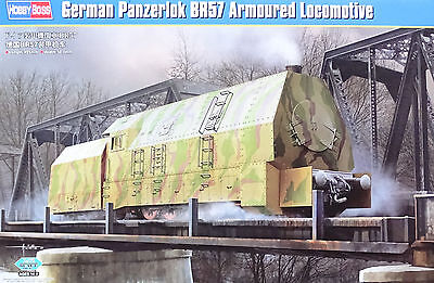 HOBBYBOSS® 82922 WWII German Gepanzerte Panzerlokomotive BR57 in 1:72