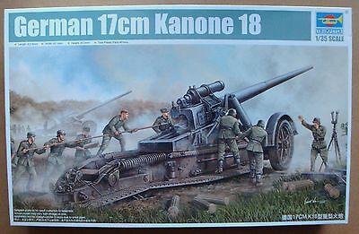 TRUMPETER® 02313 WWII German 17cm Kanone 18 Heavy Gun in 1:35