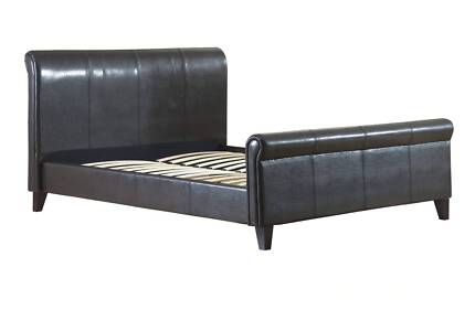 Brand New Modern PU Leather Bed King Size * 210-K