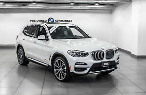 2018 BMW X3 Xdrive30i -1owner|NO Accidents| Premium PKG|