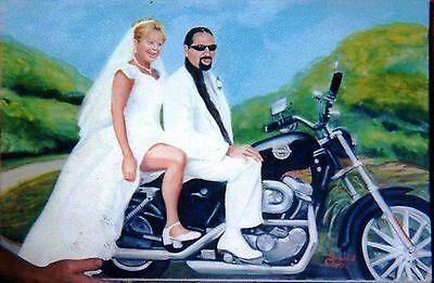 (Printable Wall Art Print Harley Wedding Home Decor Instant Download)