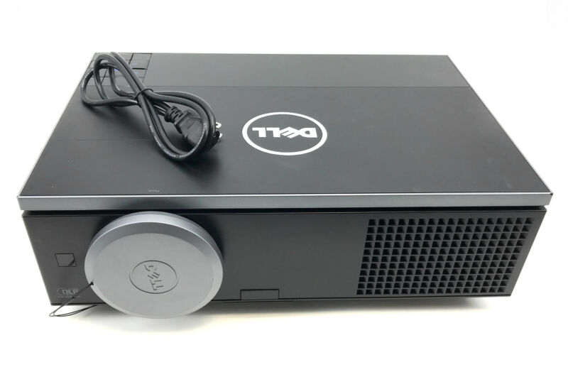 Dell Model 7700 FullHD 1080p DLP Projector 5000 Lumen Black #U3133