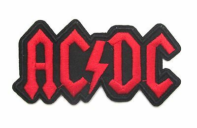 ACDC Iron On Patch- Music Bands Rock Metal Badge Appliques Sew Patches