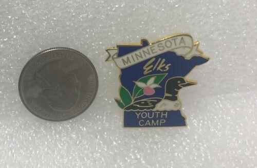 Minnesota Elks Youth Camp Pin