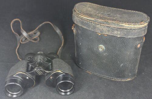 Wollensak 8x30 Binoculars w/ Case - Rochester - Vintage