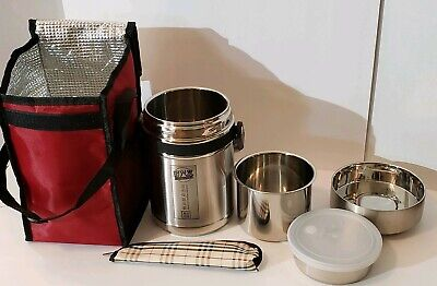 New yasushoji bento box insulation stainless steel lunch jar lunch box container Bento Stainless Steel Lunch Jar