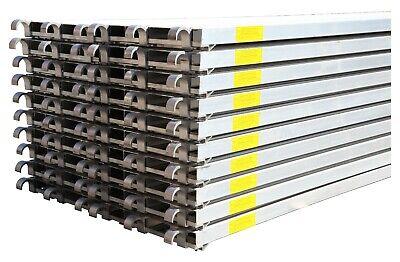 Cbm Scaffold 20 All Aluminum Walk Board Deck Platform 7 L X 19 W 75 Lbs Sq.ft
