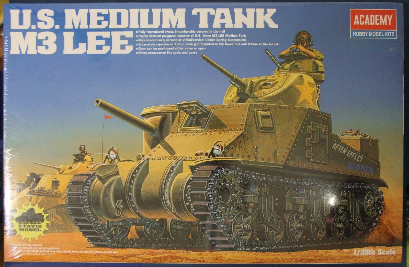 Academy M3 Lee U.S. Medium Tank