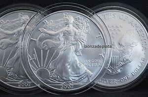 1-American-Silver-Eagle-2007-1-onza-Plata-maciza-encapsulada-aguila-oz-Silver