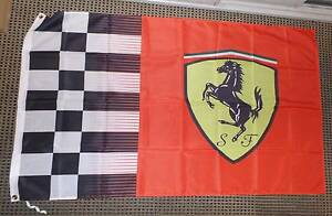 Ferrari Formula 1 Flags Vettel Raikkonen Melbourne CBD Melbourne City Preview