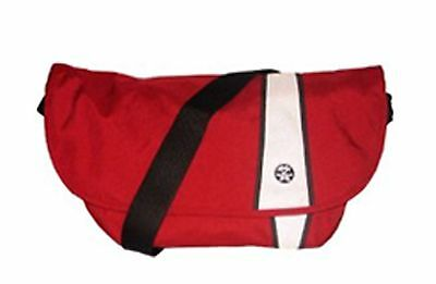 Crumpler The Western Lawn Shoulder bag Messenger bag(dk red/White/gun metal)