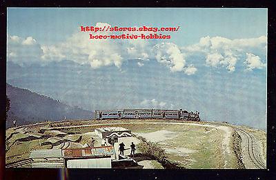 Lmh Postcard India  Indian Railway  Himalayan Train Ghoom Loop 2 Gauge Railroad