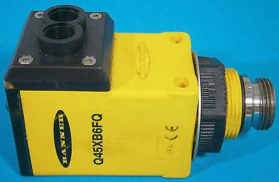 Banner Fiber-optic Photoelectric Sensor Q45xb6fq 10-30vdc