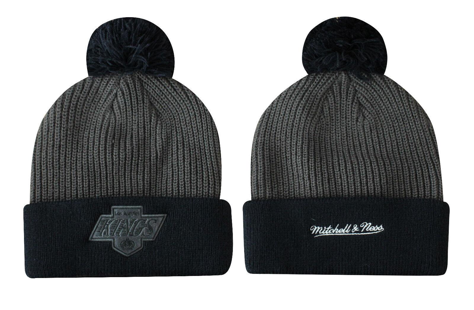 Mitchell   Ness la Kings Adulto con Pon Pon Cappello Inverno ... 9b403e7aebd3