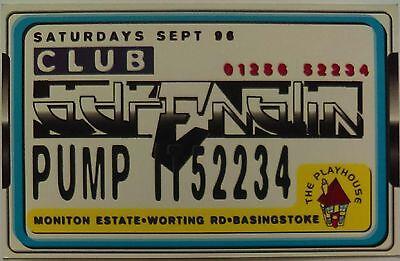 Club Adrenalin @ The Playhouse, Basingstoke, 7/9/96 Rave Flyers