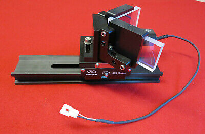 Newport 423 Linear Stage Assembly With Melles Griot 20cm Rail Sd Instruments
