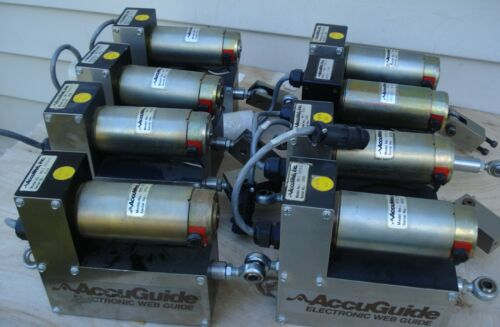 Accuweb Actuator MTR 3091 MM-1 7073-1 AccuGuide Assembly