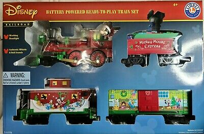 Disney battery powered ready to play train set Lionel train
