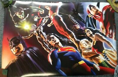 Alex Ross DC UNIVERSE Poster Brand New - Never Displayed