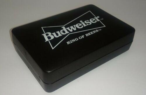 Budweisier King of Beers : Set of 3 Darts w/ Case & Extras - Very Nice