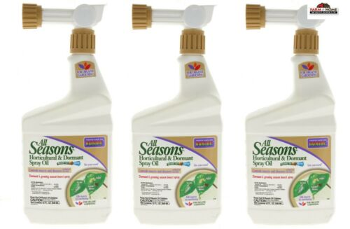 Bonide All Seasons Horticultural & Dormant Spray Oil 32oz ~ New