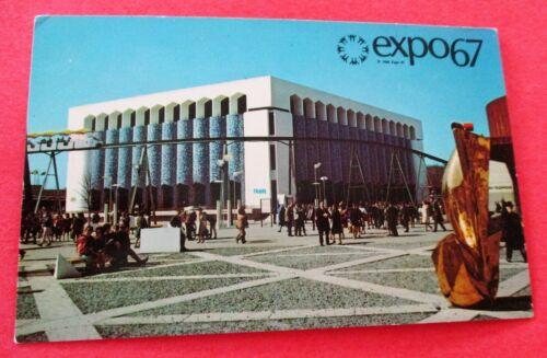 Iran Pavilion  Expo 67 Montreal Canada -Unused Postcard